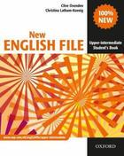 učebnice francouzštiny New English File - Upper-intermediate