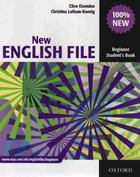 učebnice francouzštiny New English File - Beginner