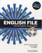 učebnice francouzštiny English File 3rd edition pre-intermediate