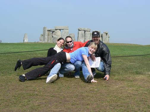 Kamenný a živý Stonehenge