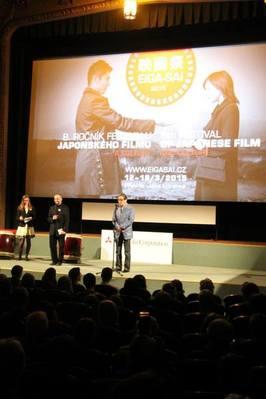 Tlumočení na Filmovém festivalu japonského filmu a kultury - slavnostní zahájení
