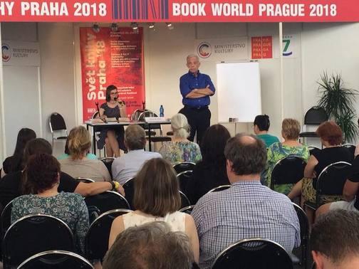 Tlumočení na veletrhu Svět knihy
